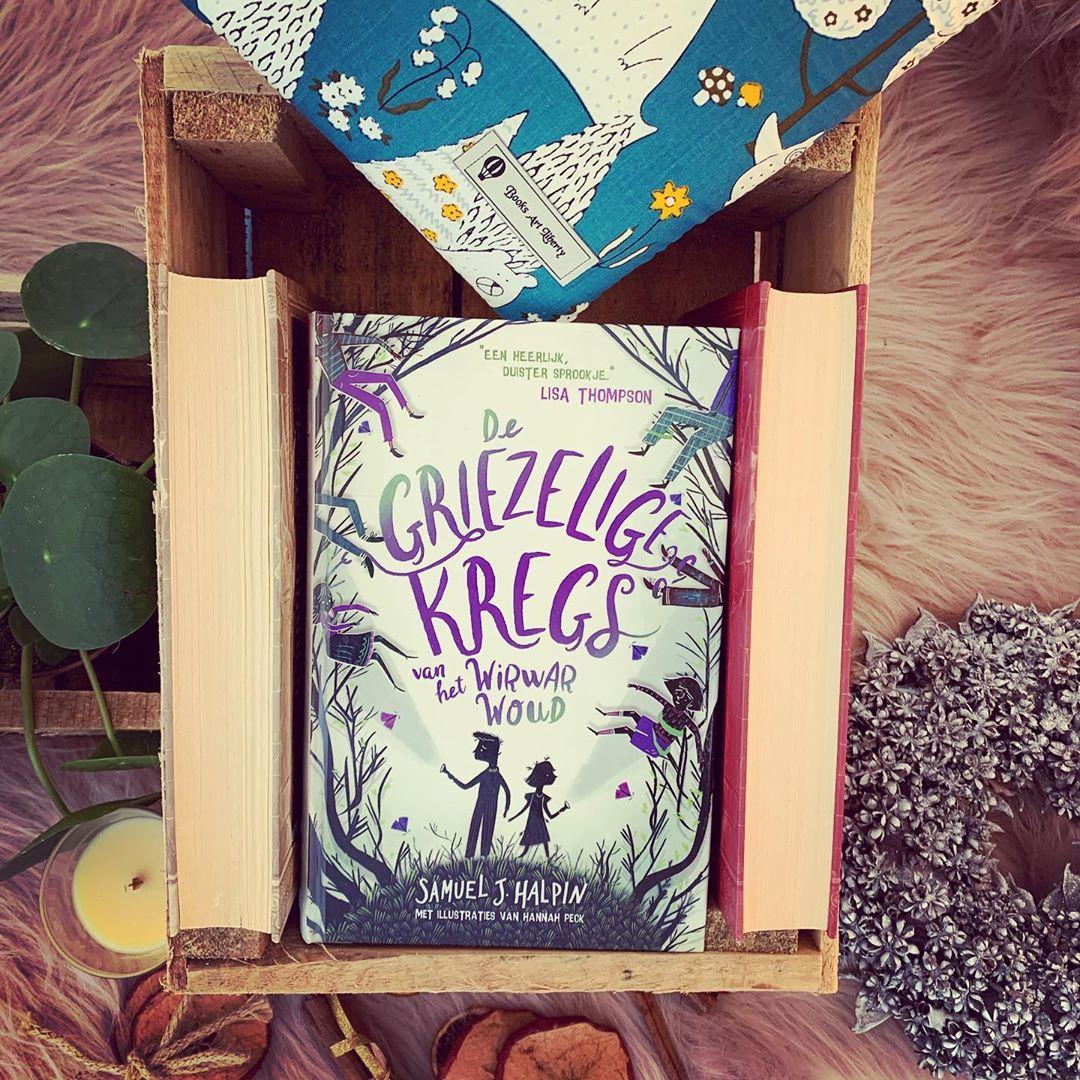 Bookstagram foto De griezelige Kregs van het Wirwarwoud - Samuel j. Halpin